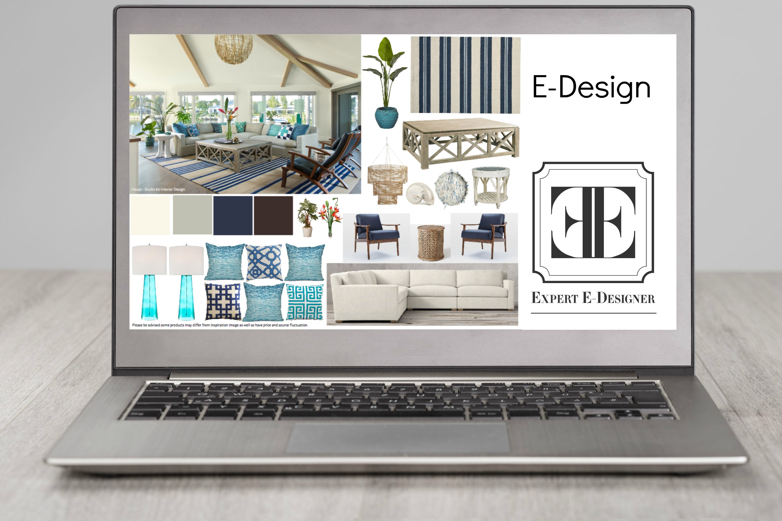 E Design Title for website